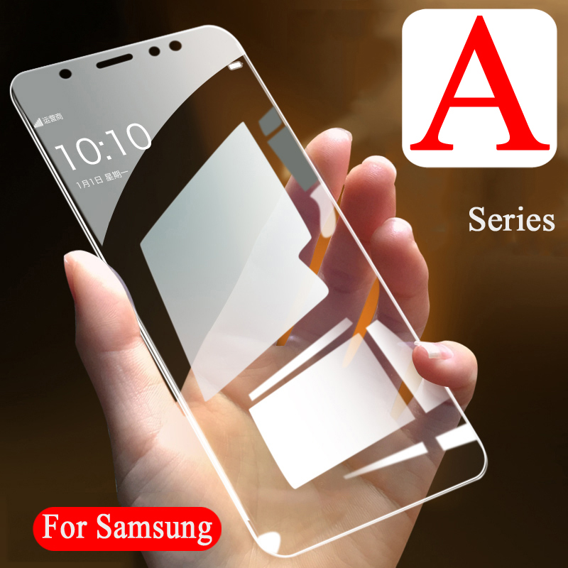 Case On For <font><b>Samsung</b></font> <font><b>Galaxy</b></font> a7 a3 <font><b>a5</b></font> a8 <font><b>2016</b></font> Tempered <font><b>Glass</b></font> Sansung <font><b>a5</b></font> 3a 7a 2017 a 9 7 5 3 Phone Film tremp ScreenProtector Glas image
