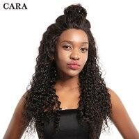 Предварительно сорвал Full Lace человеческих волос, парики с ребенком волос для Для женщин черный натуральный бразильский глубокая волна парик