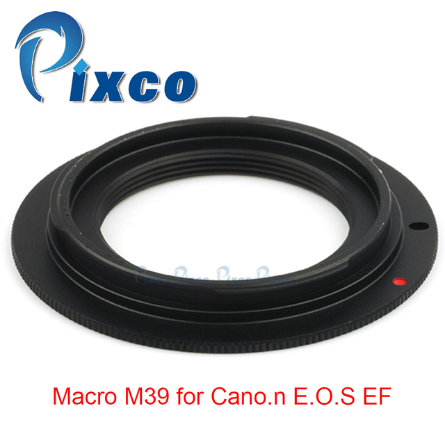 Pixco For M39 EOS lens adapter Ring work for Macro M39 for Canon EOS EF 5D Mark III  5D Mark II  1Ds Mark [IV / III / II / I ]