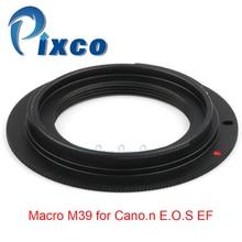 Pixco ل M39 EOS عدسة محول حلقة العمل ل ماكرو M39 لكانون EOS EF 5D مارك الثالث 5D مارك الثاني 1Ds علامة [IV / III / II/I]
