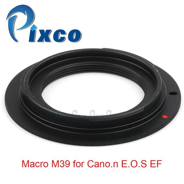 Pixco Per M39 EOS lens adapter Anello di lavoro per Macro M39 per Canon EOS EF 5D Mark III 5D Mark II 1Ds Mark [IV/III/II/I]