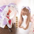 Princesa lolita dulce Hairbands tocado de encaje de horquilla del pelo arco Hecho A Mano DIY GSH071