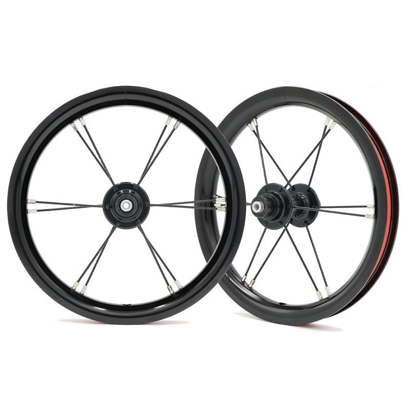 Ultra Light 12 Inch AL6061 Aluminum Wheelset for Kids Balance Bike Colorful Aluminum Alloy Wheelset for Kokua 85mm Bicycle Part