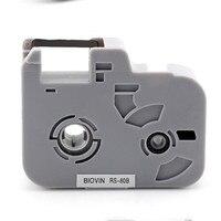 5x para biovin s650 s700e s600 s700 s750 eletrônico lettering máquina marcador de cabo identificação impressora tinta fita cartuchos cassete