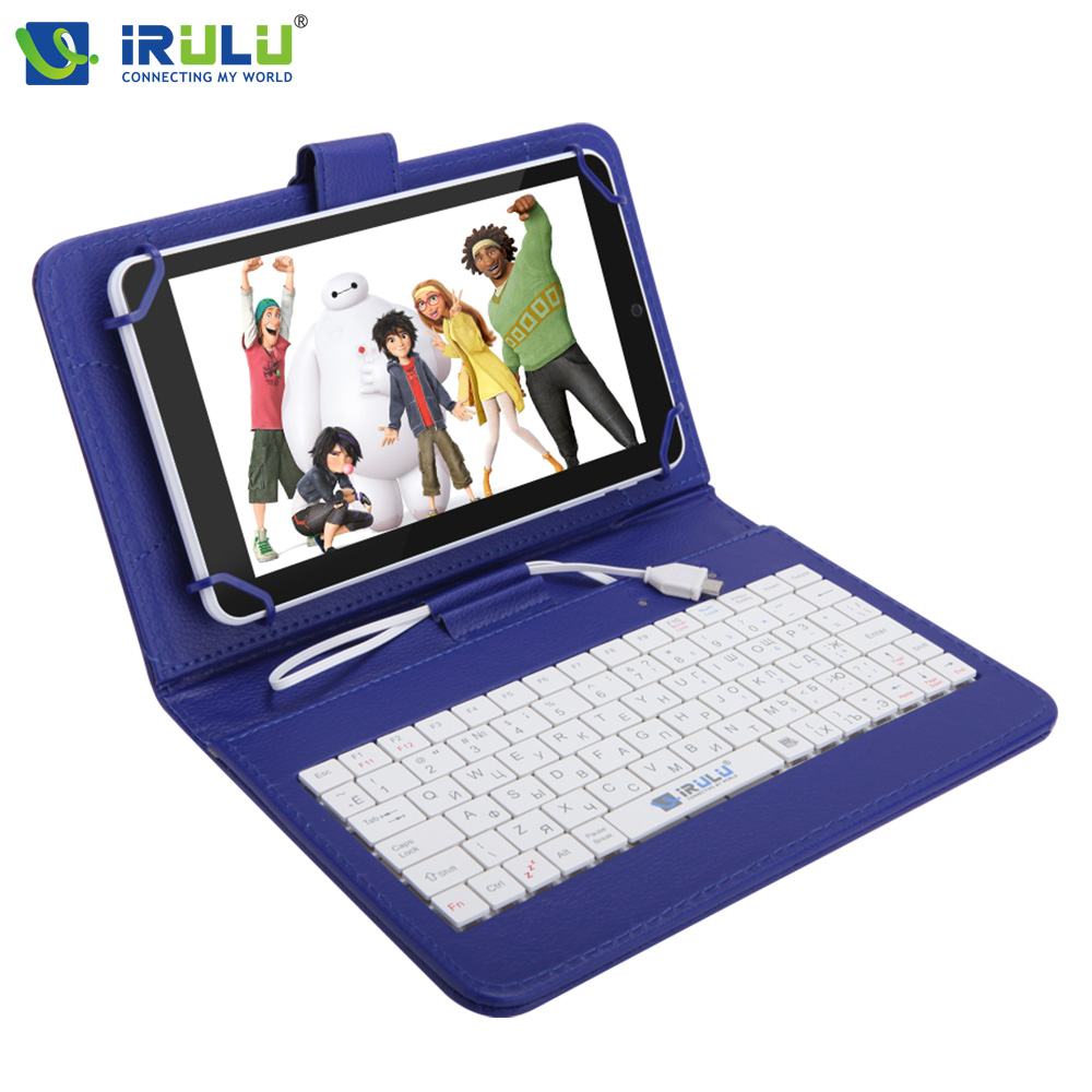ФОТО iRULU eXpro X4  7'' GMS Android 5.1 IPS 1280*800 Tablet PC Quad Core Dual Cam 1GB/16GB Bluetooth 4.0 Wifi w/RU Keyboard Case
