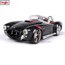 Maisto 1:24 1969 Shelby 427 simulation alloy car model crafts decoration collection toy tools gift