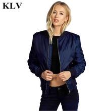 Fashion Cool Women Slim Biker Coat Autumn Winter Lady Zipper Stand Collar Bomber Jacket Casual New Female Plus Size Oct13