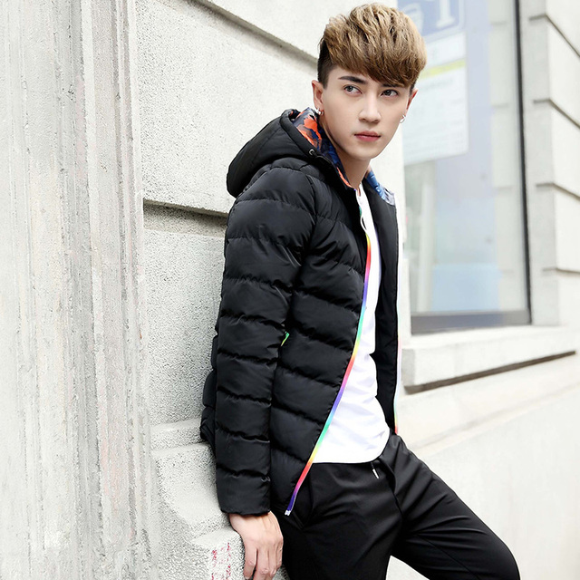 TG6133 Cheap wholesale 2016 new With thick cotton-padded clothes cotton-padded jacket men's brief paragraph winter coat