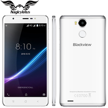 Original Blackview R6 4G LTE 5,5 zoll Smartphone 3G RAM 32G ROM MT6737T Quad Core 1920x1080px 13.0MP Fingerprint ID Mobile telefon