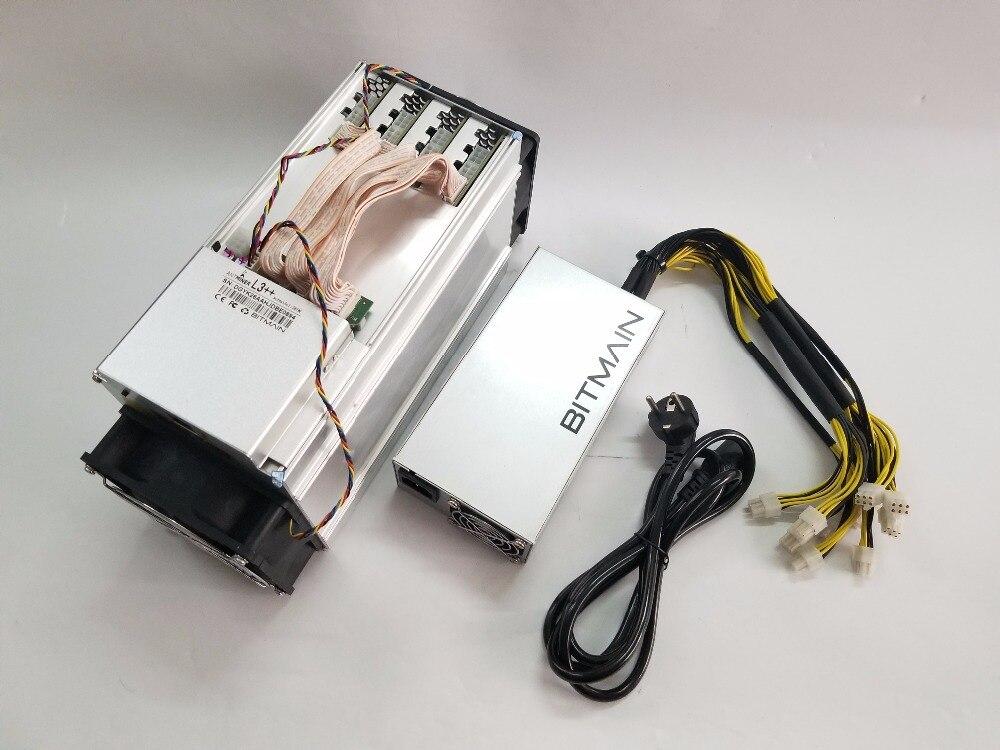 Se ANTMINER L3 + + 580 M con BITMIAN APW3 + + 1600 W PSU LTC Scrypt minero mejor que ANTMINER L3 l3 + - 4