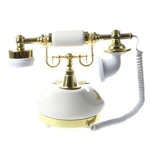 Image 4 - Antique Designer Phone nostalgia telescope vintage telephone made of ceramic MS 9100