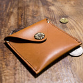 Handmade Vintage Genuine Leather coin bag cow real leather coin wallet for men and women key wallet holder.can wholesale .