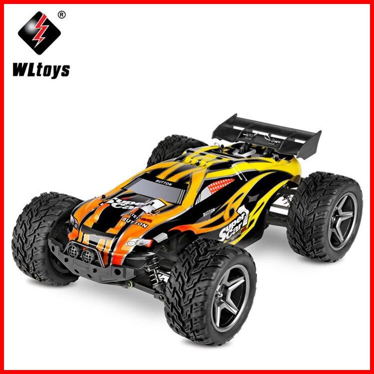 Arrivée WLtoys 12404 voiture de course RC 45 km/h 1:12 4WD crawler RC 2.4 GHz 2CH Éclaboussures Antipoussière RC Drift Drôle Jouets de Plein Air