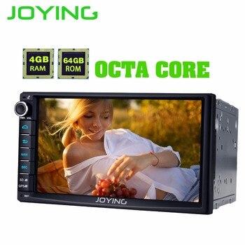 Joying 7 ''2 Din Đài Phát Thanh Xe Android 8.1 4 GB RAM Octa Lõi Autoradio Âm Thanh Stereo GPS DSP SWC đa phương tiện Máy Nghe Nhạc Carplay Video Out