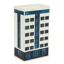 Budynek mieszkalny 1:144 N Model w skali ulicy miasta centrum Scenary układ zabawki