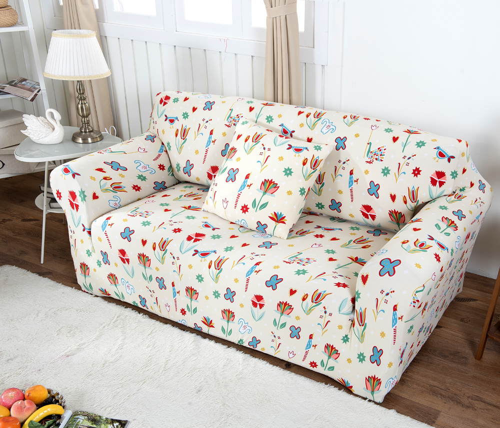 Colorful full sofa cover kids universal stretch slipcover soft reclining sofa cover single double three four & Popular Slipcover Recliner-Buy Cheap Slipcover Recliner lots from ... islam-shia.org