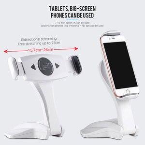 Image 5 - 360 Derece Rotasyon Tablet Standı Ayarlanabilir 7 15 inç Tablet Tutucu Için Ipad/Xiaomi/Huawei/Samsung evrensel Montaj Tutucu Braketi