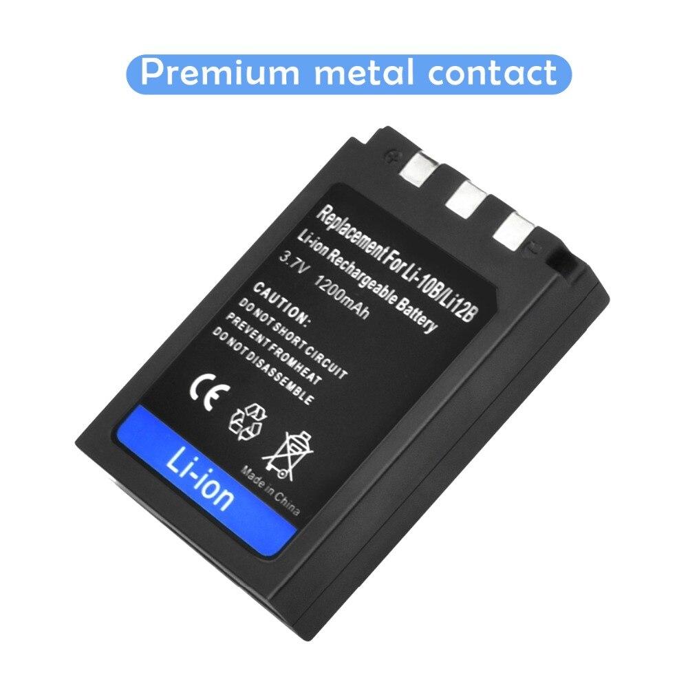 Batería de Repuesto para Olympus Camedia C-760 Ultra Zoom de la Cámara 1500mAh