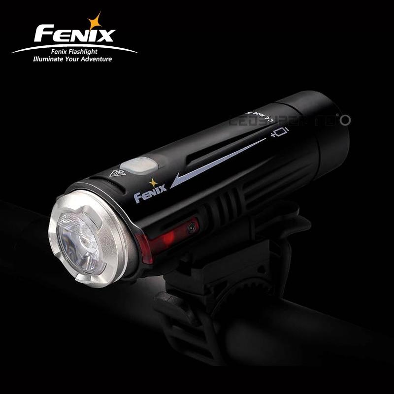 Meilleur Vente FENIX BC21R Double Distance Faisceau 880 Lumens T6 LED lampe de Poche USB Rechargeable Bike Light Vélo avec Kits