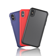 Carbon fiber case for apple iphone series 6 6S 6 Plus 7 7 Plus 8 8 Plus X XS XR XS Max чехол для сотового телефона uag monarch series case для iphone 6 plus 6s plus 7 plus 8 plus красный