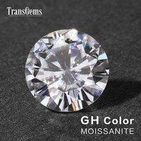 Трансвеститы 1 шт диаметр 9 мм GH цвет муасанит эквивалент Вес алмаза (карат) 3ct карат драгоценный камень для изготовления ювелирных изделий