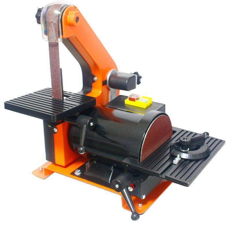 Ectronic table Belt Sander polishing machine Vertical Grinder 25 * 762mm 25 762mm electronic belt sander polishing machine