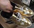 2016 новая коллекция весна обувь дети платформы обувь дети PU кожаные ботинки девушки бренд кроссовки детские золотые обувь серебряные сандалии ребенок