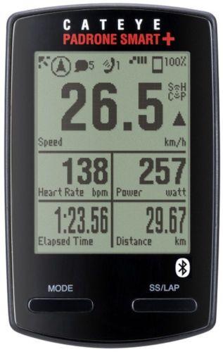 Cateye Ciclocomputer Padrone Smart + CC-SC100B GPS NAVIG Smartphone