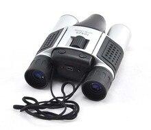 Nova DT08 10×25 Câmera Digital Binóculos de Gravação de Vídeo Telescópio 1.3MP COMS frete grátis