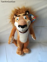 large 50cm lovely Madagascar lion plush toy cartoon lion soft doll kid's toy Christmas gift b1431