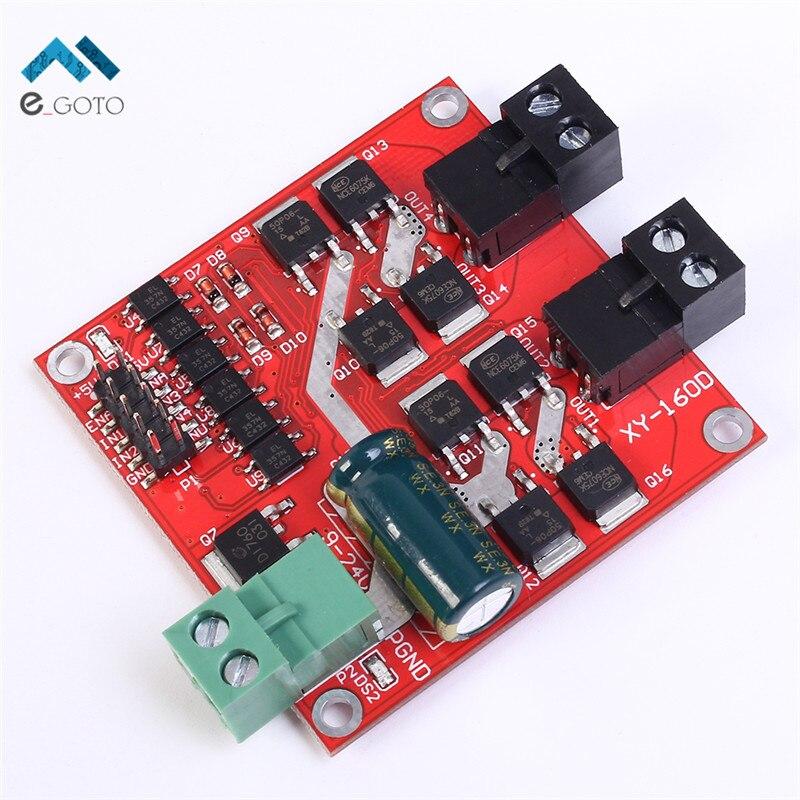 2 Canaux CH Double pont en H DC Motor Driver Module Positif/Négatif Rotation PWM Règlement Isolement Optocoupleur L298 7A 160 W