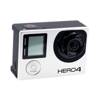 GoPro Hero4 Black Sports Camera Bare Machine with Custom 4.35mm 10MP 72 Degree Non Distortion Lens Modified Lens Newly Coming