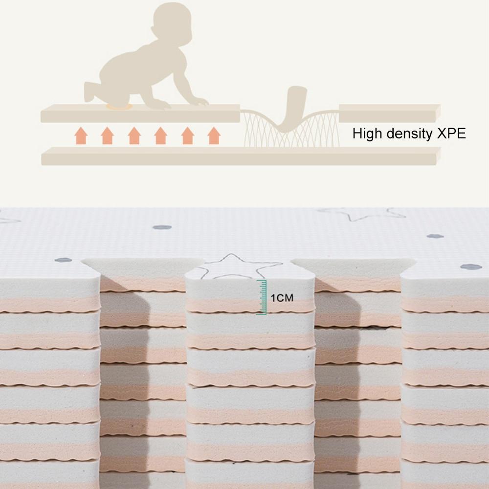 50*50 cm bébé EVA mousse jouer Puzzle tapis entrelacé exercice étage enfants tapis tapis pour enfant jouets tapis - 4