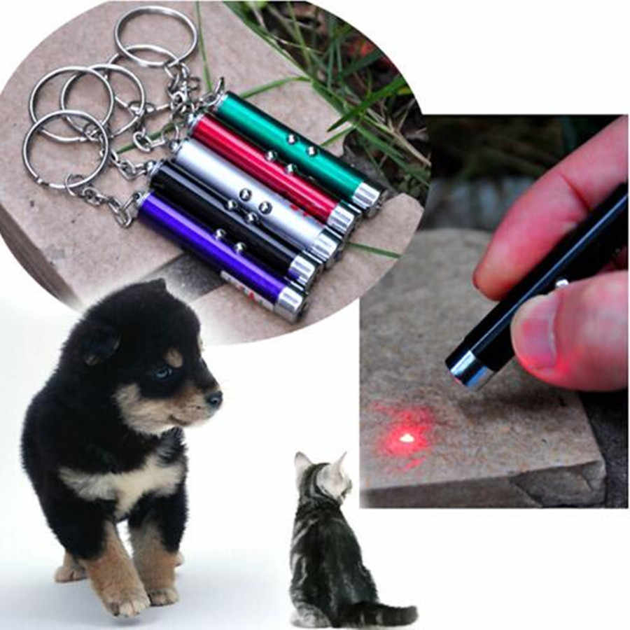 الإبداعية مضحك الحيوانات الأليفة LED الليزر لعبة القط الليزر لعبة للقطط الليزر القط مؤشر قلم لعبة تفاعلية مع مشرق الرسوم المتحركة ماوس الظل