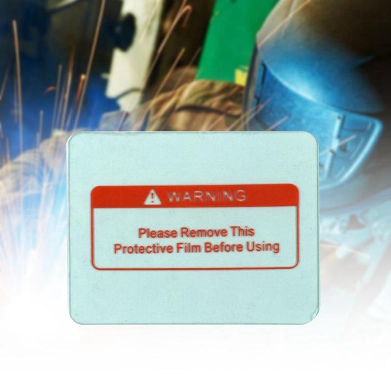 1 Pcs Die Schutzhülle Kunststoff Platte (pc) Der Auto Verdunkelung Schweiß Maske/schweiß Filter/schweiß Helm Schrecklicher Wert