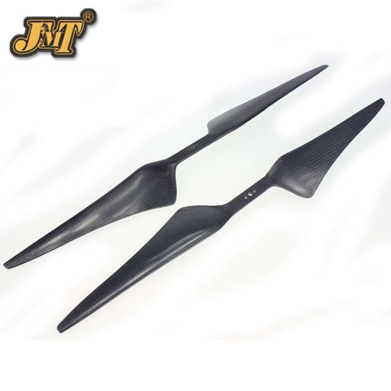JMT 4Pairs 17x5.5 3K Carbon Fiber Propeller CW CCW 1755 CF Props Cons For Hexacopter Octocopter Multi Rotor UFO 10x3 8 3k carbon fiber propeller cw ccw 1038 cf props cons for dji f45