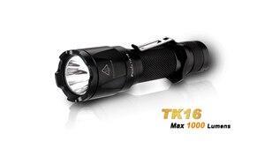 Image 1 - 2018 Новый Fenix TK16 Cree XM L 2 (U2) светодиодный фонарик 5 режимов Max 1000 люмен Водонепроницаемый спасательной Поиск тактический фонарь фонарик