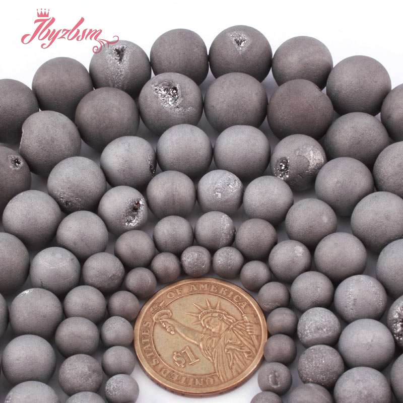 Natural Dalmation Spot Round Gemstone Charms Spacer Beads Making 4//6//8//10//12 mm