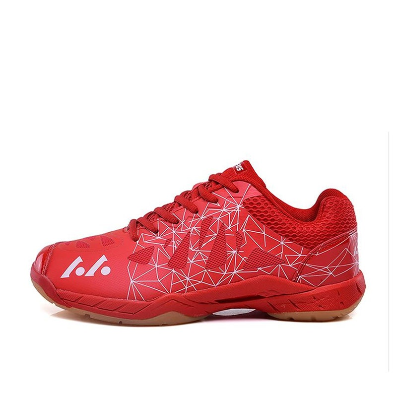 Man Anti Slippery Breathable Volleyball Shoes Professional Sports Training Shoes Women Lightweight Ping Pong Shoes 35