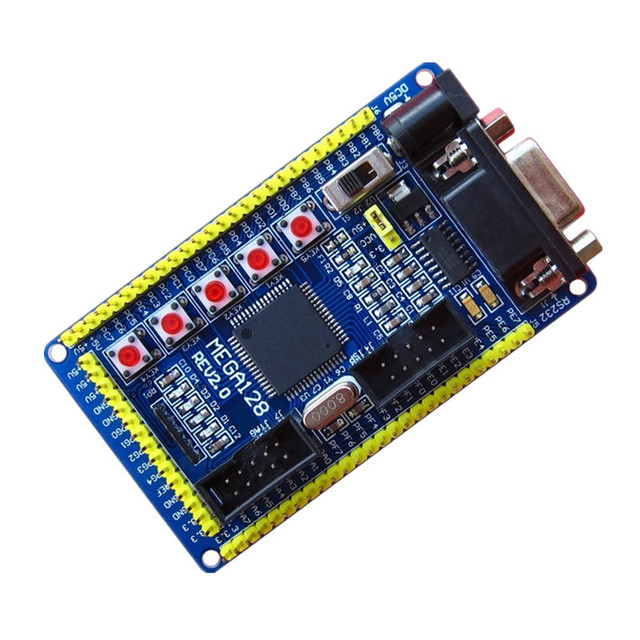 ATMEGA128 tối thiểu ban phát triển/AVR ban phát triển/AVR nhỏ nhất hệ thống ban đầu chip