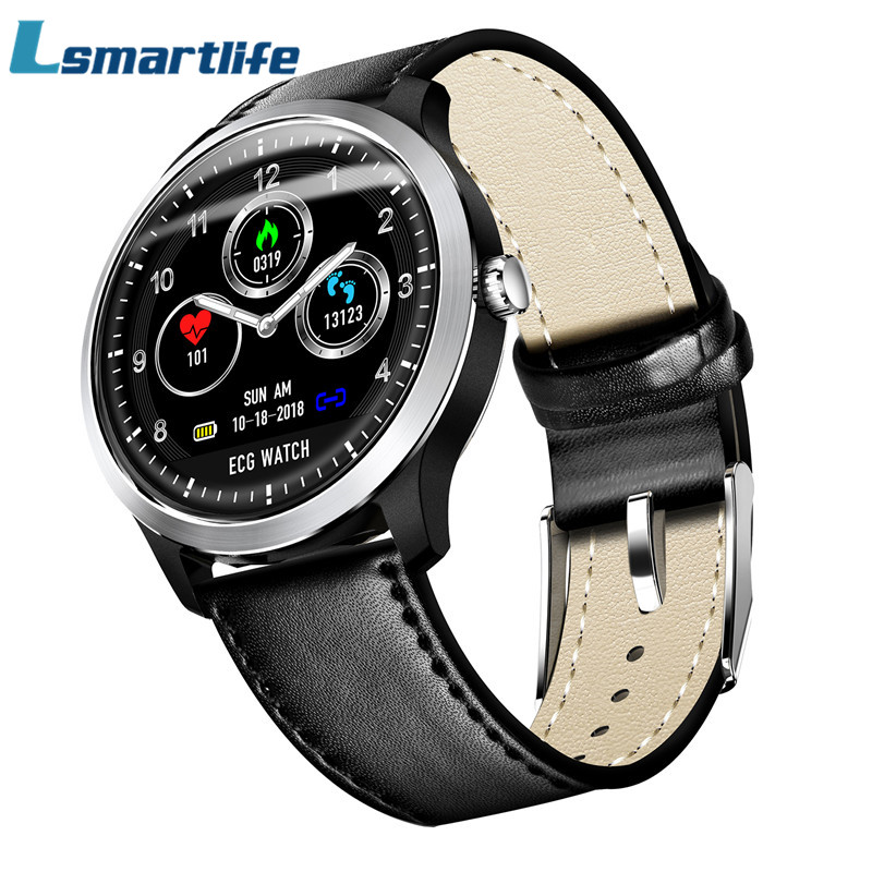 N58 ECG PPG Smart Watch With Electrocardiograph ECG Display Holter ECG Heart Rate Monitor Blood Pressure