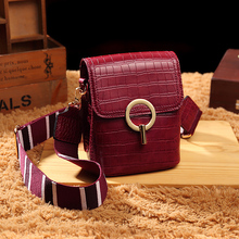 2019 Women Fashion Luxury Brand PU Leather Messenger Bag Crossbody Shoulder Bags Ladies Designer Handbag Girls Shopper Mini Tote