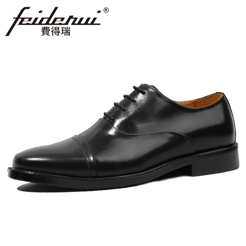 Hot Sale Black Handmade Genuine Leather Men