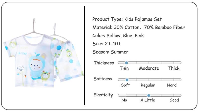 J8122 Kids Pajamas (1)
