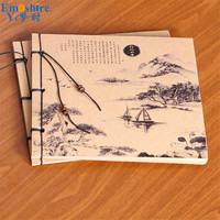 High Quality Notebook Notepad China Classical Culture NotebooK Notebooks Memo Pad Notepad Art School Writing Supplies N208