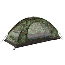 Tomshoo Ultralight Camping Tent For 1-2 Person Single Layer Outdoor Beach Tents For Camping Lightweight Portable Hiking Tent