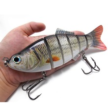 2pcs 110g Multi jointed S-shaped Swimbaits 20cm Hard lipless crankbaits цена