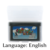 32 Bit Video Game Cartridge Super Mariod Advance Console Card US Version English Language Support Drop Shipping