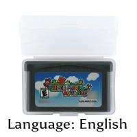 32 Bit Video Game Cartridge Super Mariod Advance Console Card US Version English Language Support Drop Shipping
