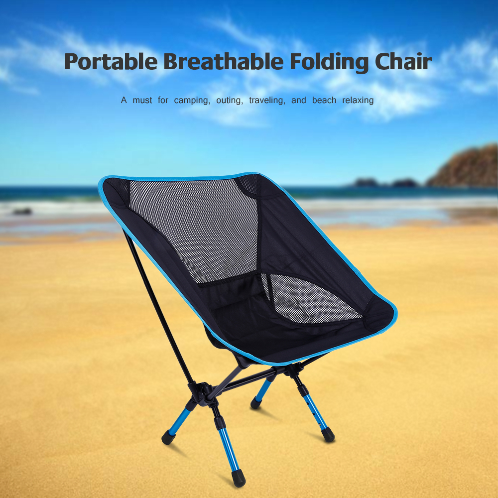Beach Chairs On Sale Folding Portable Outdoor Fishing Chair Heightened Seat Oxford Fabric Telescopic Legs Lightweight